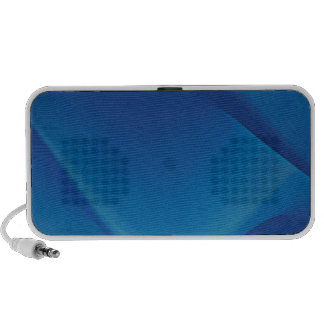 Abstract Colors Oil Thick Blue Travel Speaker