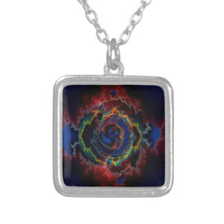 Abstract Colors Outer Limits Pendant