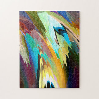 Abstract Colors Puzzle