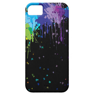 Abstract Colors Splash Paints iPhone 5 Cases