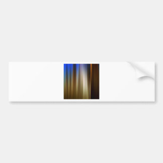Abstract Colors Stripey Dark Light Bumper Sticker