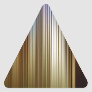 Abstract Colors Stripey Dark Light Triangle Sticker