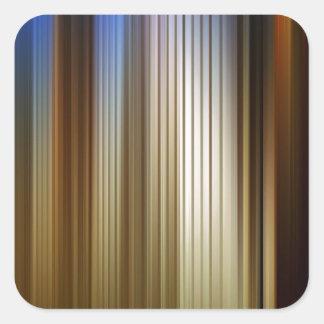Abstract Colors Stripey Dark Light Sticker