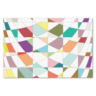 Abstract Colors Tapestry Tissue Paper