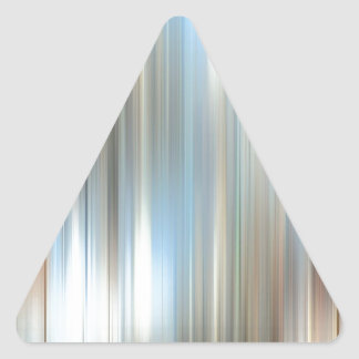Abstract Colors The Mirror Triangle Sticker