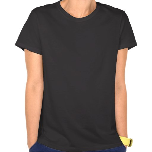Abstract Colors with Black Background Shirt