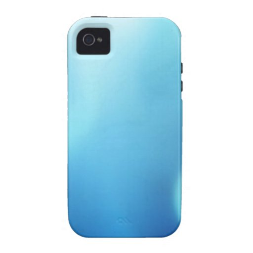 Abstract Colours Blue Vision Vibe iPhone 4 Cases