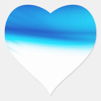Abstract Colours Hero Bleeds Heart Sticker