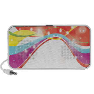 Abstract Colours iPod Speaker