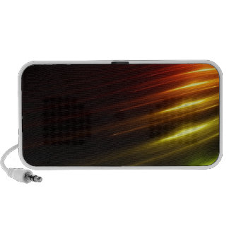 Abstract Colours Ray Of Lights Laptop Speaker