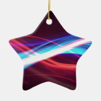 Abstract Colours Smokey Light Ornament