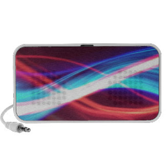 Abstract Colours Smokey Light iPhone Speaker