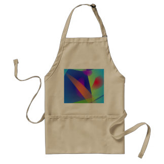 Abstract Composition Light Blue Adult Apron