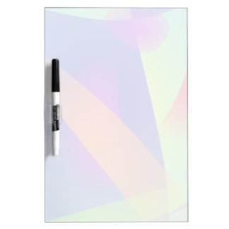 Abstract Composition Light Blue Dry-Erase Whiteboards