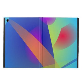Abstract Composition Light Blue iPad Air Covers