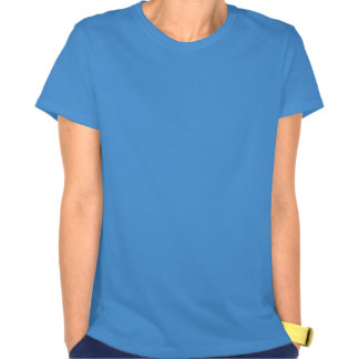Abstract Composition Light Blue Tee Shirt