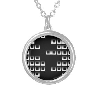 Abstract composition with squares jewelry