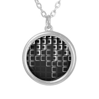 Abstract composition with squares custom jewelry