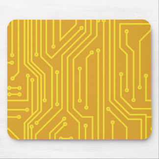 Abstract computer equipment mouse mat