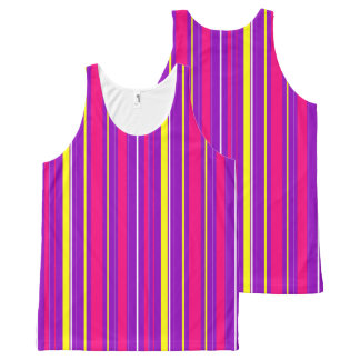 Abstract computer generated All-Over print tank top
