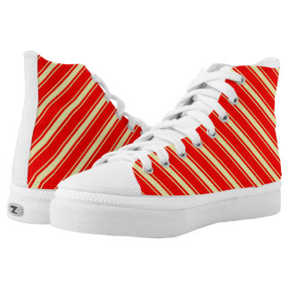 Abstract computer generated Zipz High Tops