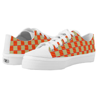 Abstract computer generated Zipz Low Tops