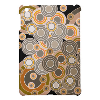 Abstract Concentric Circles Pattern Case For The iPad Mini