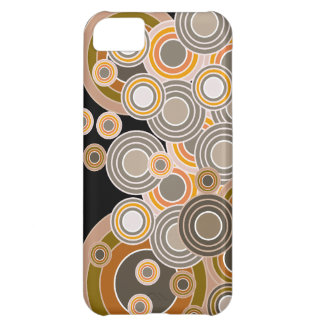 Abstract Concentric Circles Pattern iPhone 5C Case