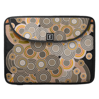 Abstract Concentric Circles Pattern Sleeve For MacBook Pro