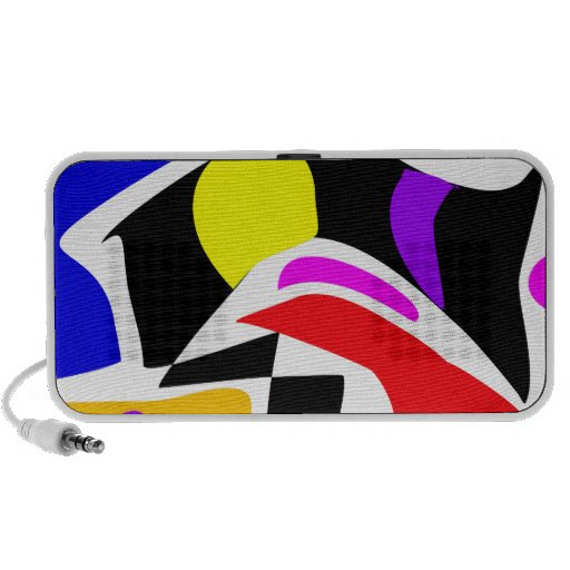 Abstract Contrast iPhone Speaker