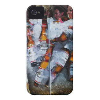 Abstract Cool Bud Party iPhone 4 Case