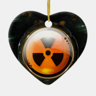 Abstract Cool Caution Reality Christmas Tree Ornaments