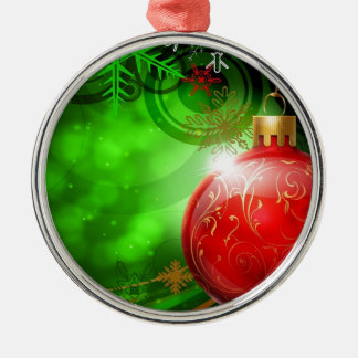 Abstract Cool Christmas Spirit Ornaments