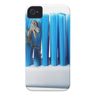 Abstract Cool Dino Brush iPhone 4 Covers