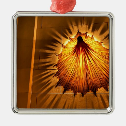 Abstract Cool Dress Of Light Christmas Ornament