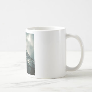 Abstract Cool Fantastic Glass Building Coffee Mugs