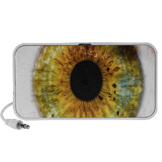 Abstract Cool Green Eye Travel Speaker