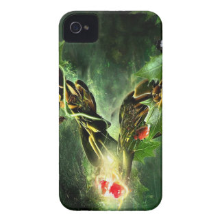 Abstract Cool Ladybird Butterfly Vines iPhone 4 Cases