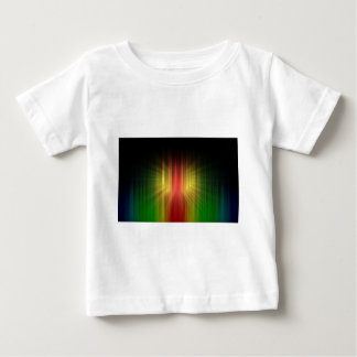 Abstract Cool Prism of Light Lines Baby T-Shirt