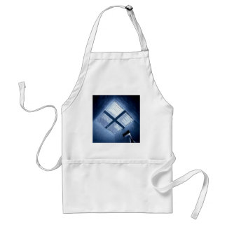 Abstract Cool Sky Light Aprons
