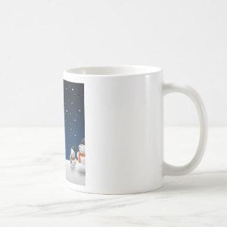 Abstract Cool Starry Snow Land Coffee Mug