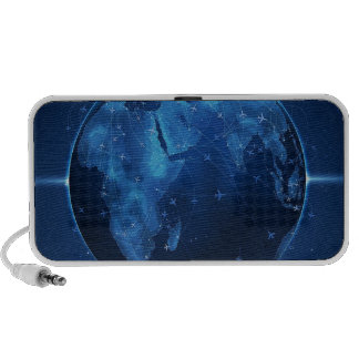 Abstract Cool The Global Works Notebook Speakers