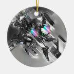 Abstract Cool Transformation Robotics Ornaments