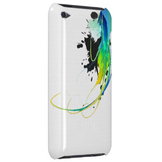 Abstract cool waters Paint Splatters Barely There iPod Cases