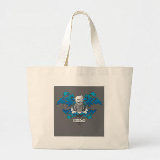 Abstract Cool Wee Man Crest Of Arms Tote Bag