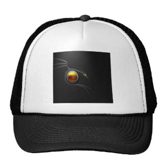 Abstract Cool Ying Yang Dragon Trucker Hat