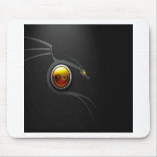 Abstract Cool Ying Yang Dragon Mouse Pad