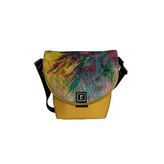 Abstract CostaRican Eagle aka Crazeagle Courier Bags
