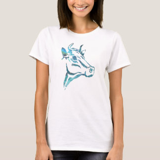 Abstract cow Silhouette T-Shirt
