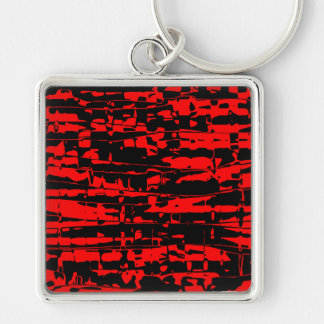 Abstract Crackle Keychains